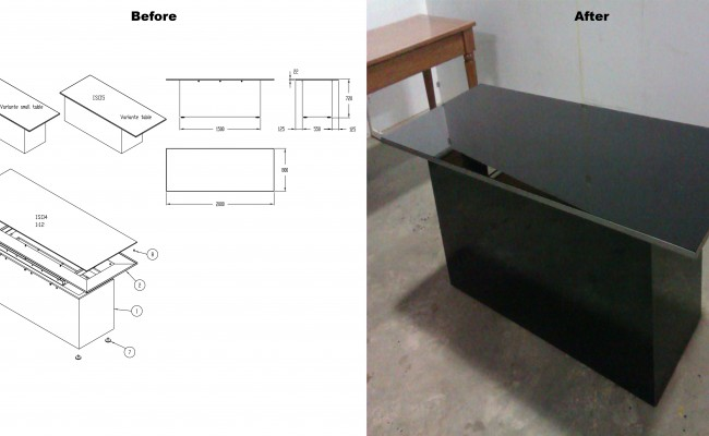 Autograph VE Small Table
